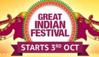 Amazon Great Indian Festival to begin on October 3, coincides with Flipkart sale