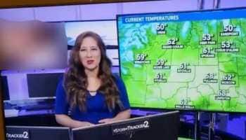 Shocking! News channel accidentally airs pornographic clip during weather forecast