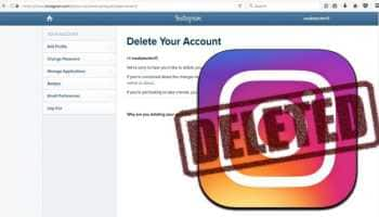 Instagram User? Here's how to delete your account and download data