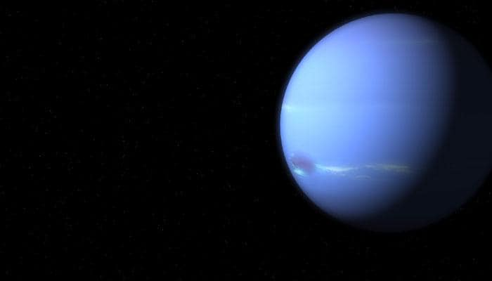 Witness cosmic double play of Neptune, 'Dodgeball' Asteroid tonight