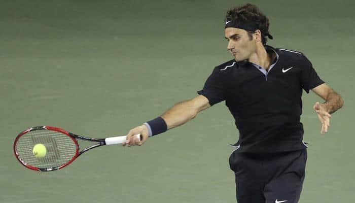 Roger Federer opens fire for Swiss against Italy
