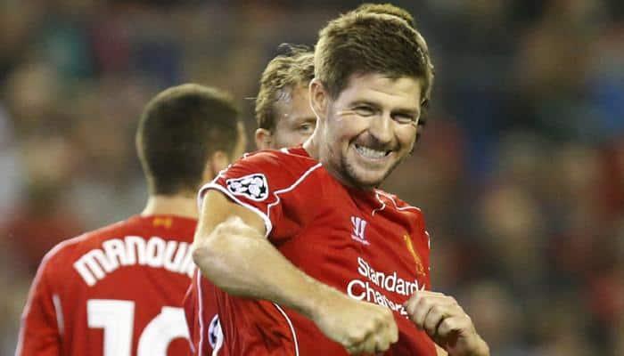 CL 2014: Steven Gerrard lights up Anfield with last-gasp Liverpool winner