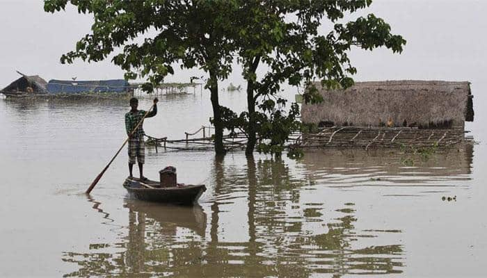 Floods wreak havoc in Assam, Meghalaya; 10 dead, alert sounded