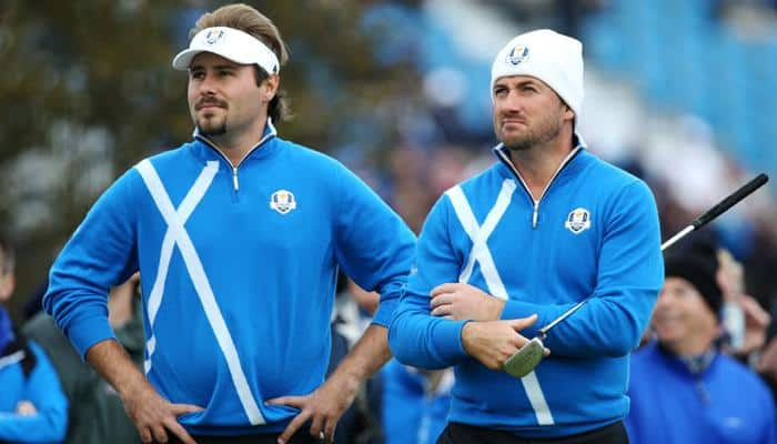 Dubuisson and McDowell win for Europe in Ryder Cup