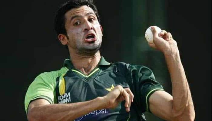 Junaid Khan ruled out of Aus series; Sohail Tanvir named as replacement
