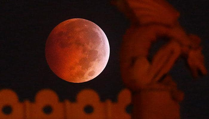 Lunar eclipse: When the moon turned blood red