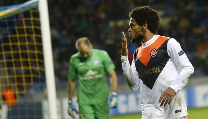 Records fall as Luiz Adriano hits five in Shakhtar romp