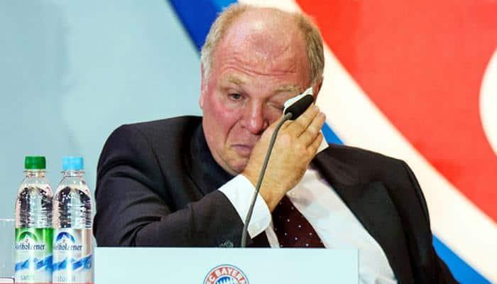 Ex-Bayern president Uli Hoeness slims down in jail