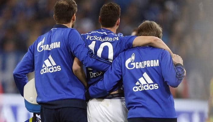 Schalke's Julian Draxler out injured for rest of year