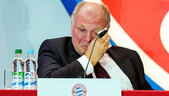Ex-Bayern Munich president Uli Hoeness slims down in jail