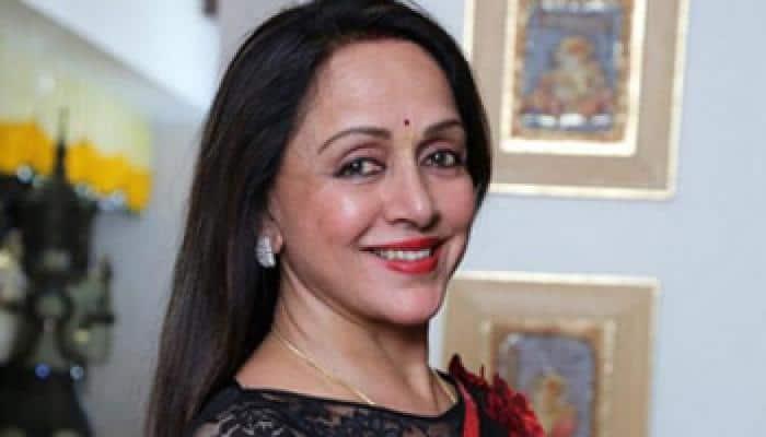 Hema Malini posts pictures of 'Shimla Mirch'!