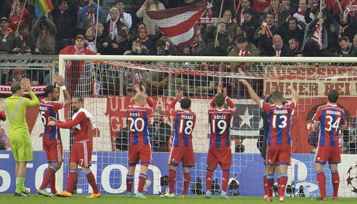Sparkling Bayern Munich beat Roma 2-0 to book last-16 spot