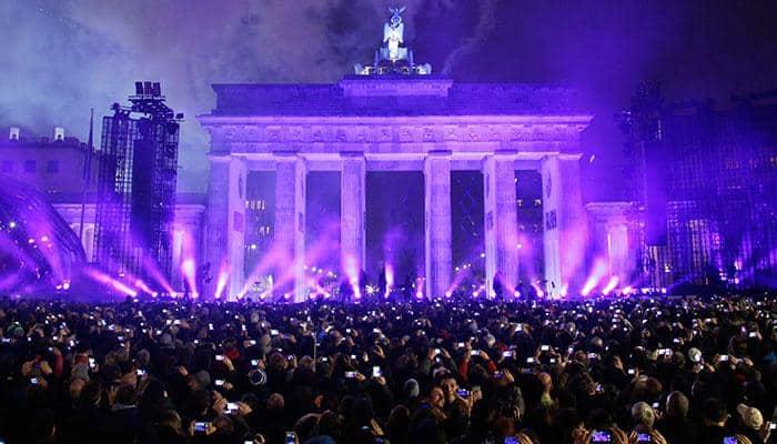 Germans celebrate Silver Jubilee of fall of Berlin wall