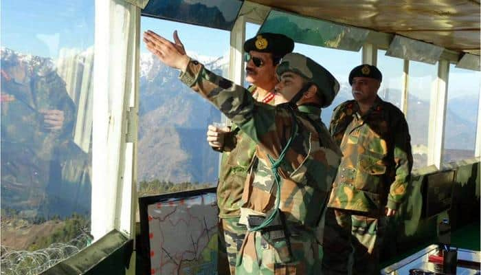 Army Chief visits J&K forward areas ahead of 2nd phase polling