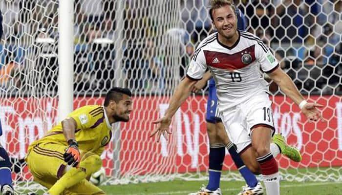 Mario Goetze`s World Cup-winning boot brings joy to children`s charity