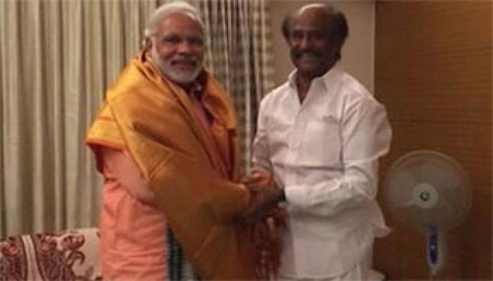 PM Narendra Modi wishes friend Rajinikanth 'Happy Birthday'