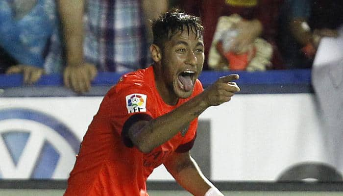 Neymar out of Barca's Cup game against Huesca