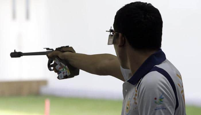Jitu Rai claims 10 m pistol gold with new mark