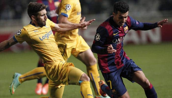 Pedro scores hat-trick as Barcelona crush Huesca in Cup