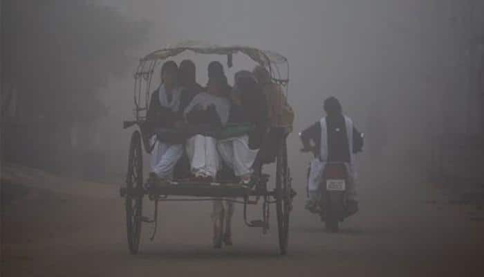 Intense cold, dense fog prevail in North India; 10 killed