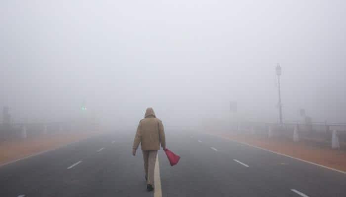 Dense fog engulfs capital; several flights, trains delayed