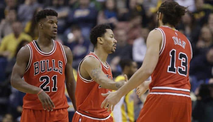 Chicago Bulls beat Indiana Pacers for seventh consecutive victory