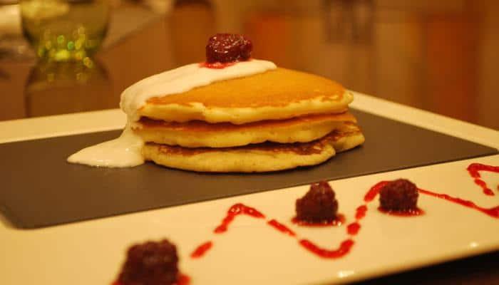 Recipe: Eggless buttermilk pancakes