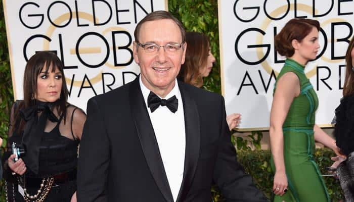 Golden Globe: Kevin Spacey bags his first award Golden Globe