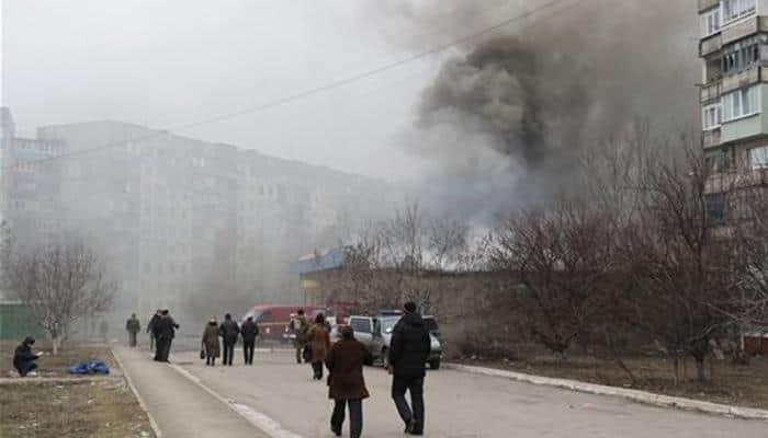 Ukraine rebels announce new offensive as rockets kill 30