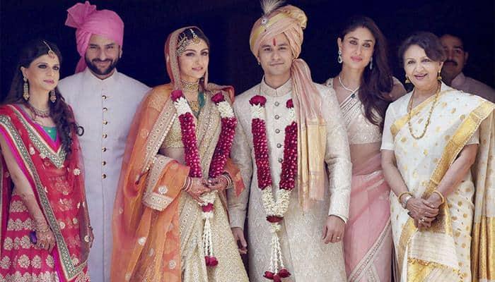 Picture perfect: Soha Ali Khan marries Kunal Kemmu