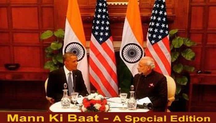 'Mann ki Baat': India, US share common concerns, Obama tells PM Modi