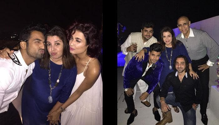 It's party time with Farah Khan for 'Bigg Boss 8' contestants!