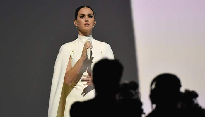 Obama, Katy Perry in Grammy push on domestic violence