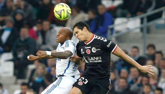 Reims' David Ngog denies Marseille top spot in France