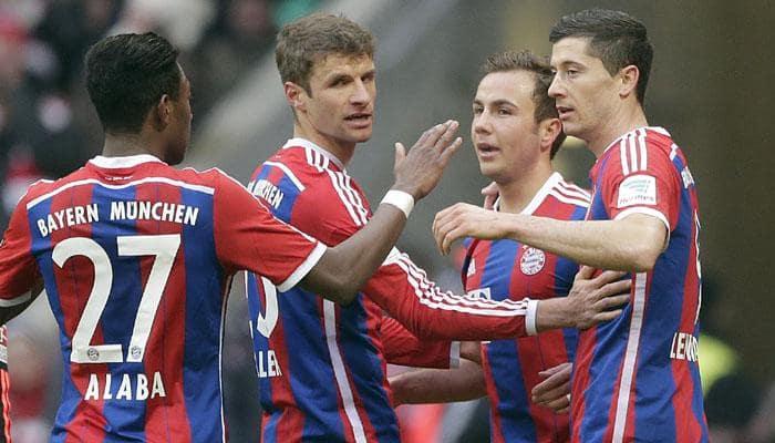 Bundesliga: Bayern Munich hammer Hamburg 8-0, Wolfsburg prevail in 5-4 thriller
