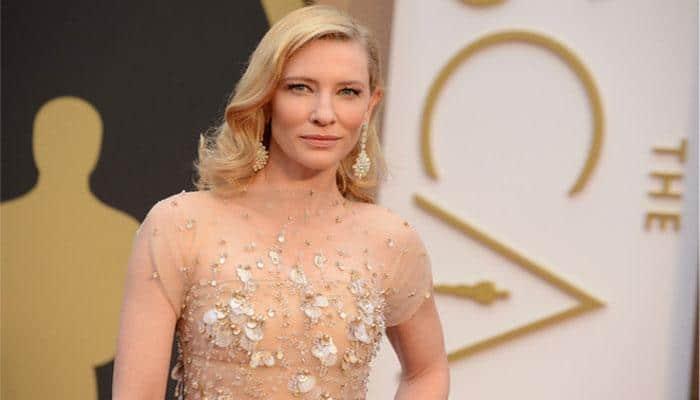 Cate Blanchett goes barefoot at 'Cinderella' Berlin premiere