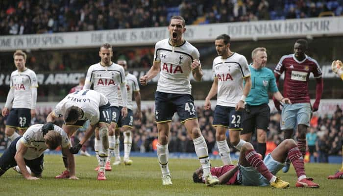 West Ham manager Sam Allardyce fumes after Spurs snatch late draw