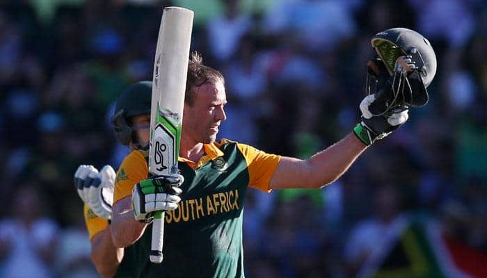 ICC World Cup 2015: 5 interesting facts about AB de Villiers' 162-run knock