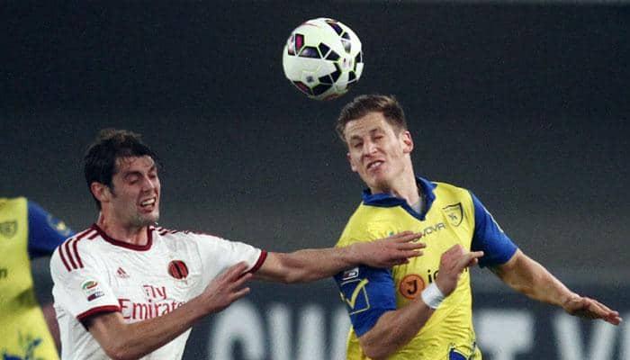AC Milan labour to goalless draw with Chievo