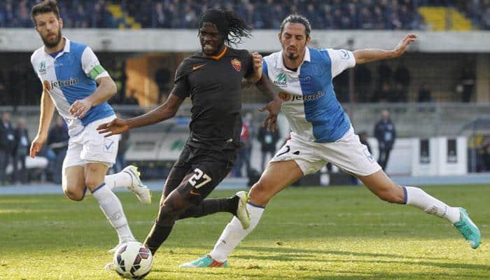 Misfiring AS Roma draw again to boost Juventus Serie A title bid