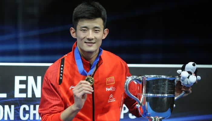 Chen Long survives Jan Jorgensen challenge to win All England title