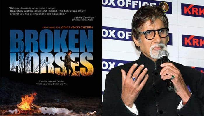'Broken Horses': Amitabh Bachchan launches trailer!