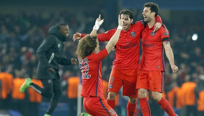 Champions League: Thiago Silva header gives PSG away goals win over Chelsea
