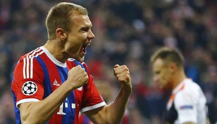 Rampant Bayern annihilate 10-man Shakhtar Donetsk 7-0 to equal record