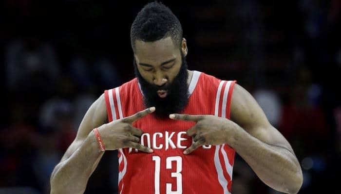 NBA: James Harden`s huge game lifts Houston Rockets