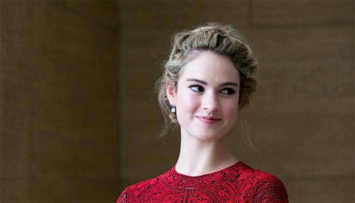 'Cinderella' star Lily James calls 'thin' waistline criticism 'irrelevant'