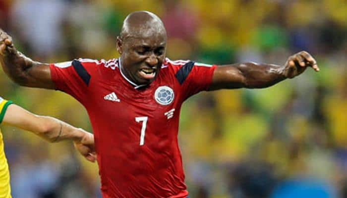 Pablo Armero cleared to join Flamengo on loan