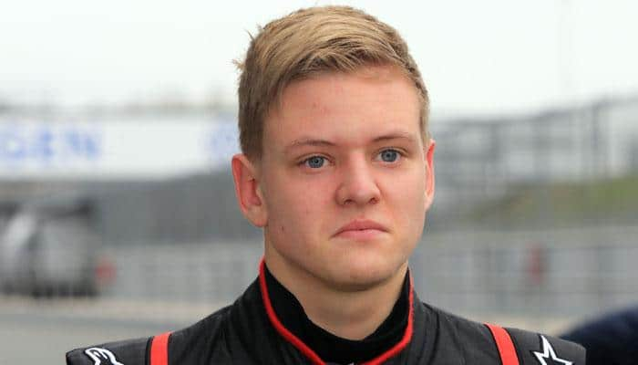 Michael Schumacher's son tests amid call for calm