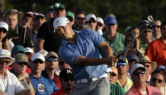 Jordan Spieth leads by four at drama-filled Masters