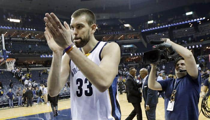 Marc Gasol helps carry Memphis Grizzlies past Portland Trail Blazers